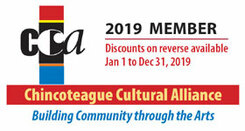 Chincoteague Cultural Alliance Membership Discount Card